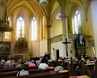 Kanape - prohlídka kostela 4/2018
