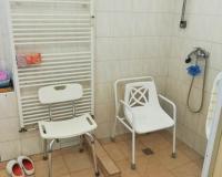 Bezbariérová koupelna - sprcha